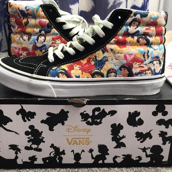 Vans Shoes | Vans Disney Princess High